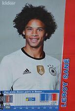 LEROY SANE - A3 Poster (ca. 42 x 28 cm) - Fußball EM 2016 Clippings Sammlung NEU