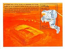 MALDIVE IS. 2000 SPACE EXPLORATION S/S MNH ASTRONAUT w/face on MARS
