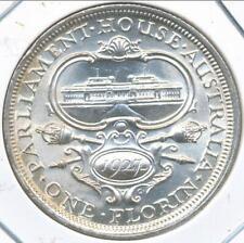 Australia, 1927 Florin, 2/-, George V (Canberra) (Silver) - Uncirculated