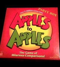 Apples to Apples Party Box Board Game 2007 Mattel