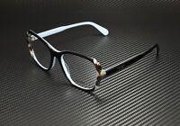 PRADA Heritage PR 03VV KHR1O1 Black Sptd Brown Demo Lens 54mm Women's Eyeglasses