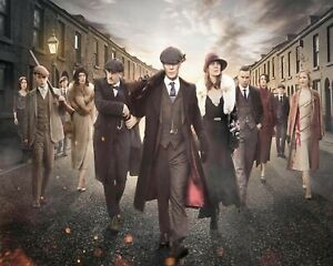 PEAKY BLINDERS THOMAS SHELBY FAMILY BIRMINGHAM METAL PICTURE PLAQUE TIN SIGN 326