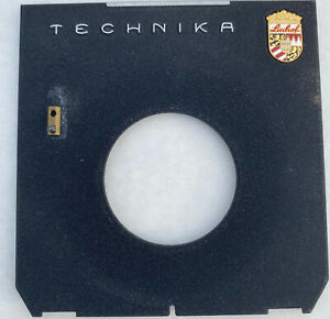 Linhof Black Technika offset Lens board, used, VG Condition.