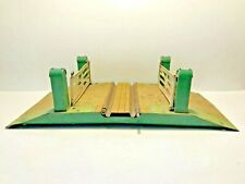 More details for vintage tin hornby o gauge railways level crossing circa.1935 toy gates complete