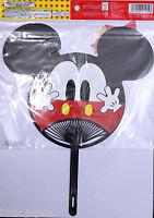 団扇 Uchiha - Abanico Rígida Japonés - Mickey Mouse - Import Japón