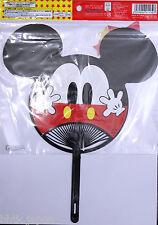 団扇 Uchiwa - Eventail rigide japonais - Mickey Mouse - Import Japon