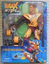 Max Steel BLADE PATROL Figure Mib New Mattel