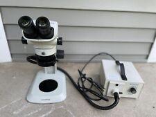 Olympus Sz51 Stereozoom Microscope 45 Zoom Whsz10x H22 Eyepieces Sz2 St