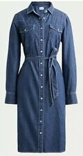 NWT J Crew Denim Shirt Dress Size Womens 04 Meghan Markle Royal