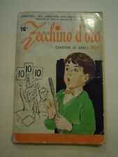 16° ZECCHINO D'ORO - LE CANZONI DI APRILE 1974 - TESTI E CANZONE (L-5)
