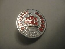 RARE OLD CLYDE SCOTTISH FOOTBALL CLUB METAL PRESS PIN BADGE