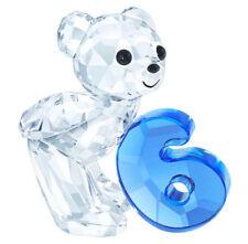 SWAROVSKI #5108728 KRIS BEAR NUMBER SIX BRAND NEW IN BOX BLUE CUTE FREE SHIPPING