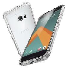 A prueba de impactos Híbrido Transparente Blando Gel TPU nuevo caso cubierta para HTC One M10/U11/U12+