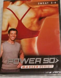 Power 90 Master Series Sweat 5 - 6 by Beachbody and Tony Horton Sealed NWT NEW
