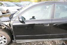 Audi A4 B6 8E Tür + Rahmen  vorne links Fahrertür schwarz LY9B Kombi+Limo