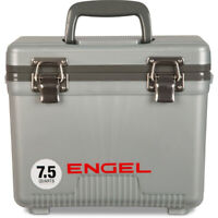 Engel UC7S 7.5-Quart EVA Gasket Seal Ice and DryBox Cooler with Carry Handles
