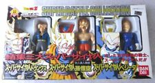 Dragon Ball Z Super Battle Collection Movie 3 Pack Trunks Goku Vegeta Bandai HTF