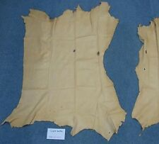 Deer Leather Buckskin Color Craft Grade 10 square feet