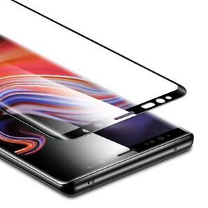 Samsung Galaxy Note 9 Folie Glas Display Schutzfolie Glas Schwarz SM-N960