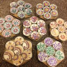 6 Tea Light Candles Diwali Christmas Gift Mehndi Henna Favours 6 For £4.50