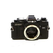 Minolta X-700 35mm Film SLR Manual Focus Camera Body, Black - UG