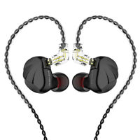TRN VX 6BA+1DD Hybrid Metal In Ear Earphone IEM HIFI Monitor Headset Headphone
