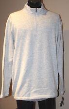 Croft&Barrow Men's Long Sleeved Knit Mockneck Sweater GREY WIYH LONG POCKET XL