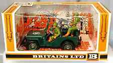 Britains Deetail # 9786 U.S. Machine Gun Jeep painted metal - 1st version - MIB
