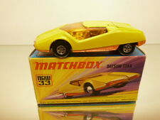 MATCHBOX SUPERFAST 33 DATSUN 126X  - YELLOW - GOOD IN BOX
