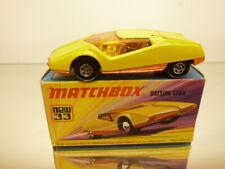 MATCHBOX SUPERFAST 33 DATSUN 126X  - YELLOW - GOOD IN BOX