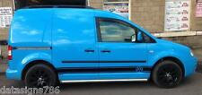 Set of VW Caddy/Maxi Side Stripes stickers