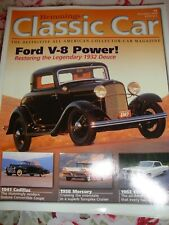 Lot (9) Hemmings Classic Car Magazines Collectible Assorted Months 2004-05  Q10