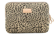 "Leopard 13"" 13.3"" Laptop PC Cover Bag Canvas Notebook Sleeve Case HP ThinkPad"