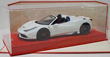 MR Collection 1/18 Ferrari 458 Speciale Aperta Avus White, Exclusive Ltd 25pcs