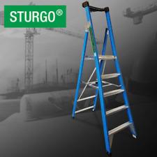 STURGO Fibreglass Platform Ladder 5 Step Perth