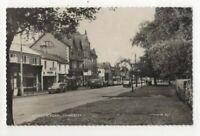 Camberley London Road Surrey 1964 RP Postcard 315c