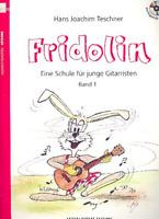 Fridolin Band 1 oder 2 mit CD - Eine Schule für junge Gitarristen