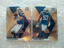 COLTS 2x lot Panini Mosaic Football 2020 PEYTON MANNING 90 DARIUS LEONARD 93
