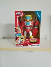 "Playskool Heroes #Hot Shot"" Transformers Rescue Bots Poseable Figure. Ships Free"