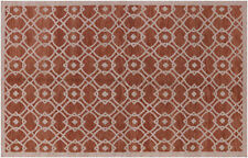 """5' 2"""" X 8' Hand Knotted Modern Rug - H1951"""