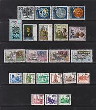 Gestempelte Briefmarken der DDR (1981-1990) als Sammlung