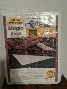 Grip It Rug Stop 2' x 4' rug non slip rug pad new sealed in retail package