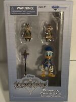 Disney Kingdom Hearts Donald Duck Chip & Dale Action Figures Diamond Select Toys