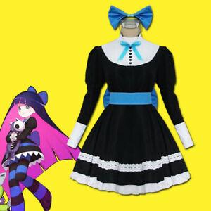 Panty Stocking Uniform Anarchy Stocking Cosplay Costume Maid Dress