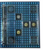 Lot of 2 X  Clear Binder Encap Pages for 20 Square Coin Capsules Holder