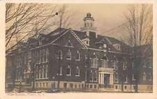 Perry New York High School Street View Antique Postcard K38324