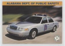 2000 #1 Alabama Dept of Public Safety Non-Sports Card 0w6