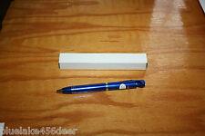 Laser Pointer & Pen 3 n 1 Blue Laser  Blue Led Light &  Black Writing Pen