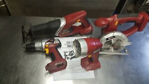 CHICAGO ELECTRIC Combination Cordless Tool Set 66755