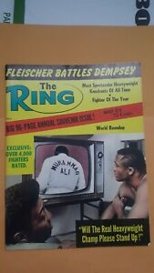 Ring Boxing Magazine. March 1970. Muhammad Ali, Joe Frazier.
